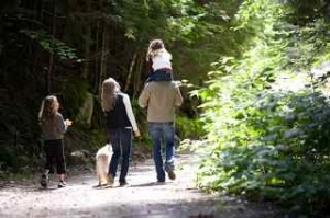 family-nature-walk