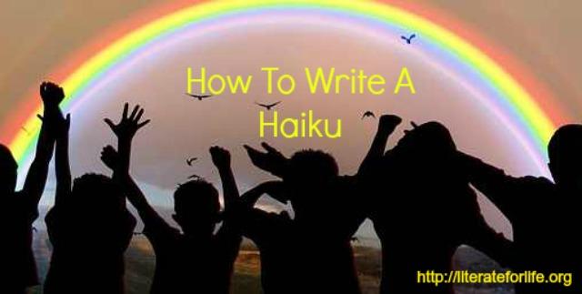 write a haiku