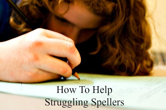struggling speller