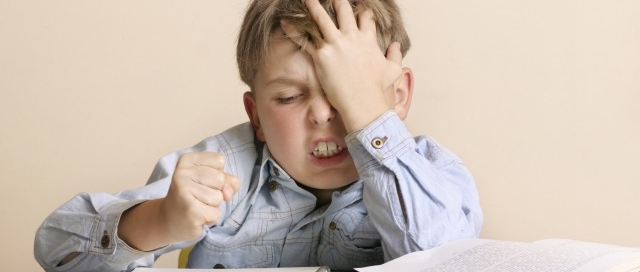 child doesn't like to write