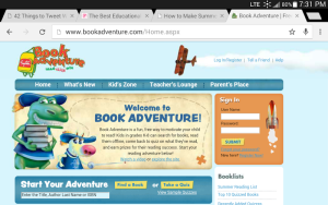 Free reading websites for kids