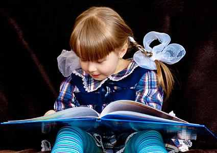 child excel in reading