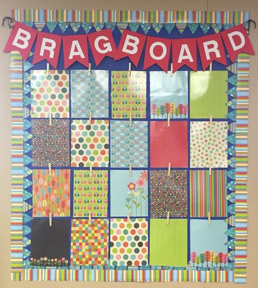 brag board, kindness, appreciation board