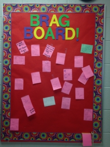 kindness, brag board, brag tag